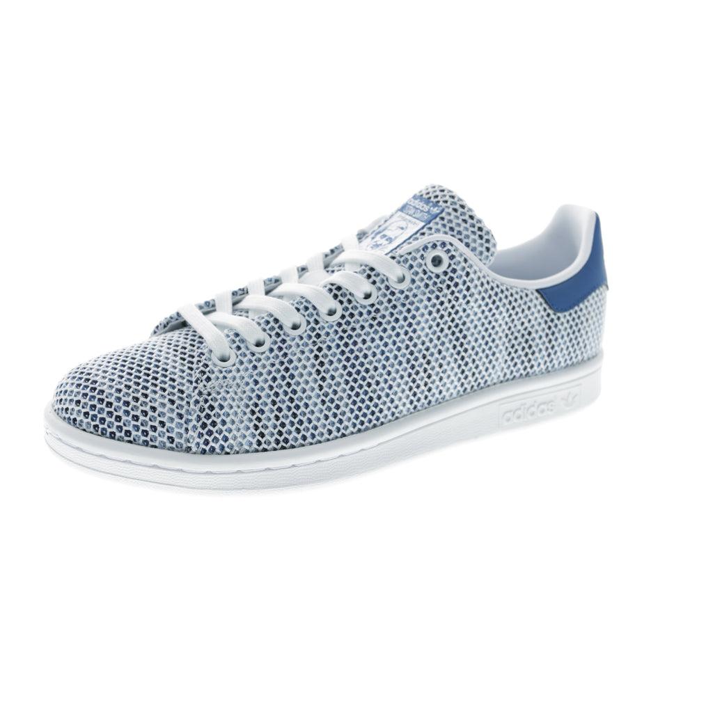 adidas originals stan smith white blue