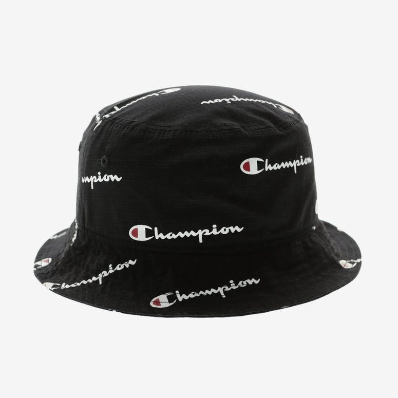 Champion All Over Bucket Hat Black – Culture Kings NZ 1f3815c9ad78