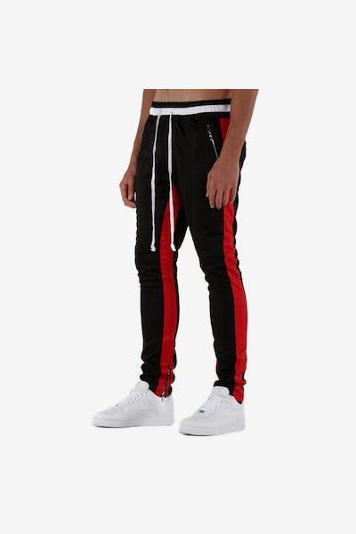 Lifted Anchors Jenner Trackpant Black/Red