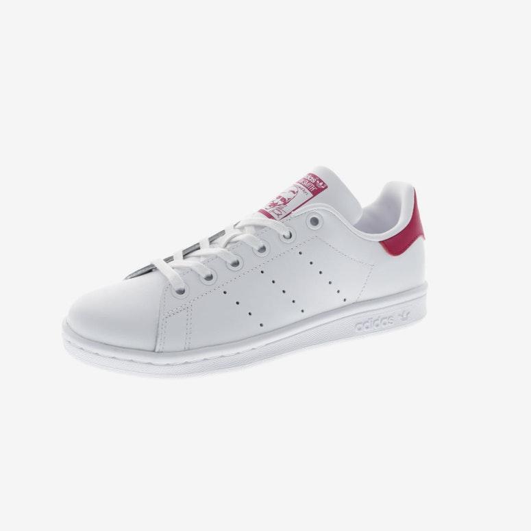 a0e1923b38993 Adidas Originals Stan Smith Junior White Pink   B32703 – Culture ...