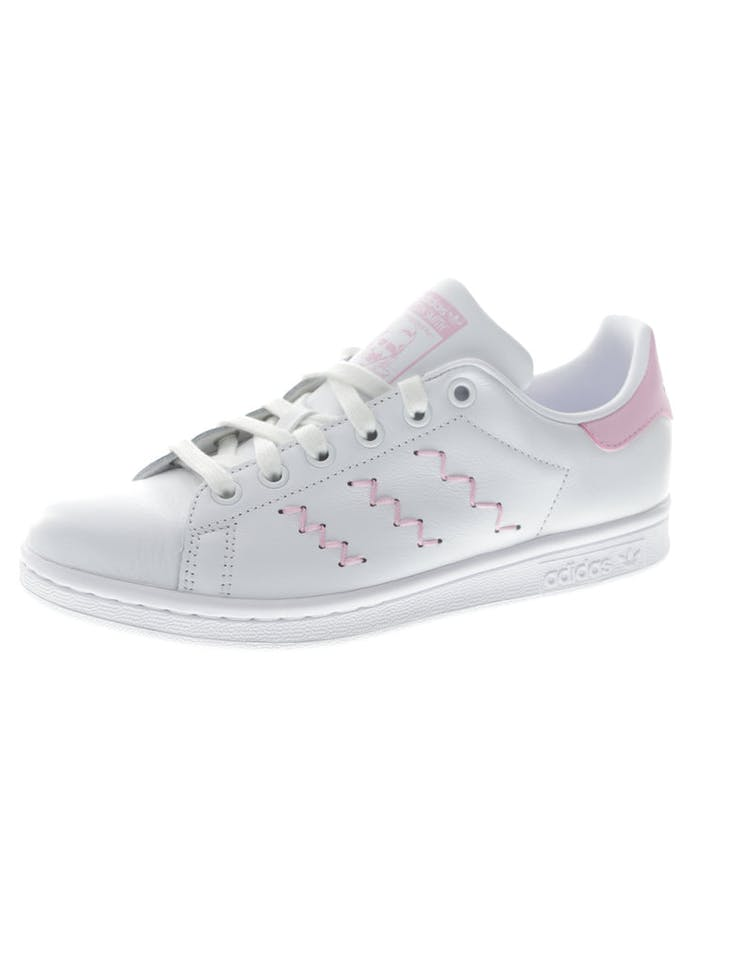 save off a46db 7f2b1 Adidas Originals Women s Stan Smith White Pink