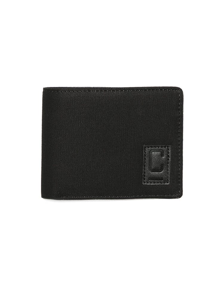 Carré Tresorier Canvas Wallet Black/Stone