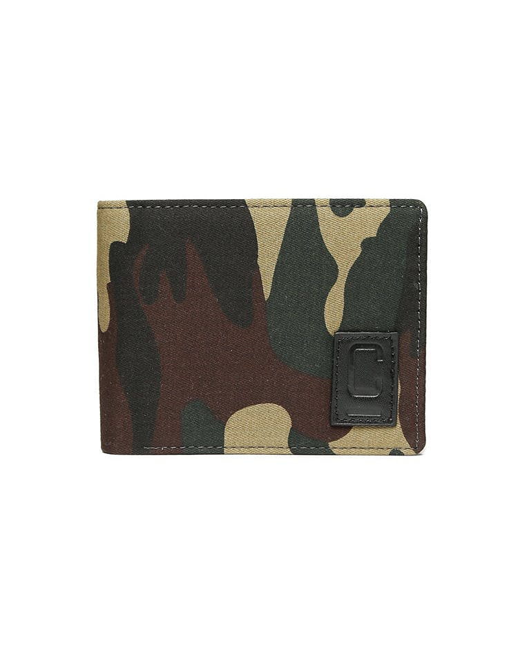 Carré Tresorier Canvas Wallet Camo/Black