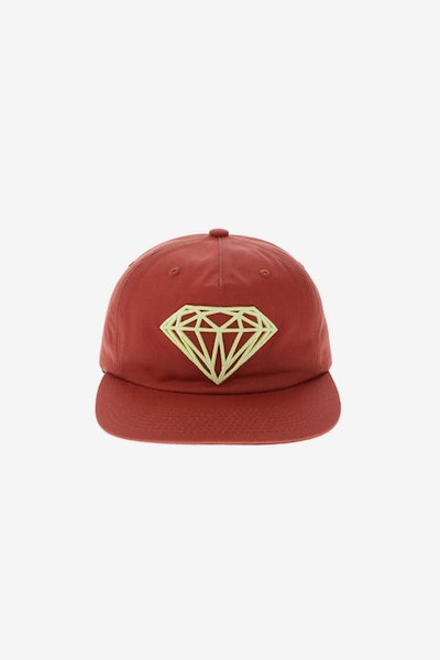 Diamond Supply Brilliant Unconstructed Snapback F17 Red