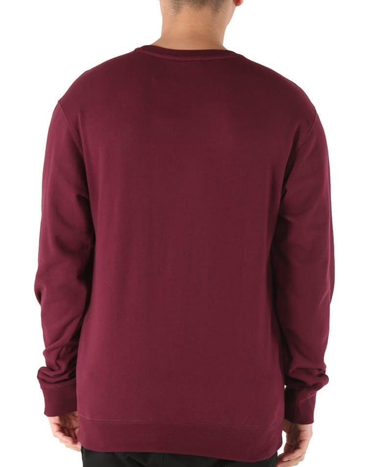 Carré Chain C Crewneck Burgundy