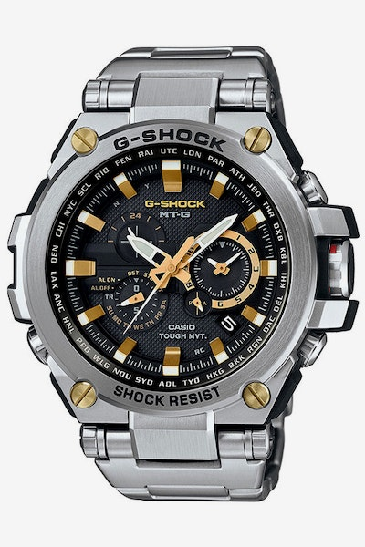G-Shock MTG-S1000D-1A Silver/Black/Gold
