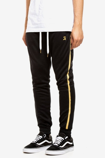 Saint Morta Luxury Track Pant Black/Gold