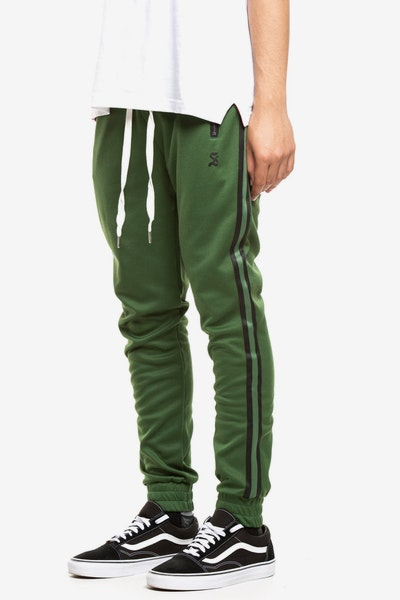 Saint Morta Luxury Track Pant Green/Black