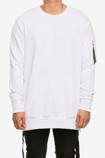 Emperor Apparel Upper East Crewneck White