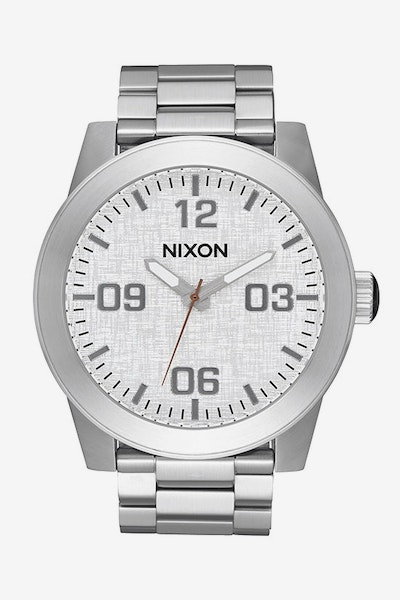 Nixon Corporal SS Silver/Rose Gold