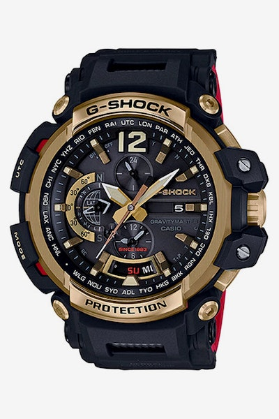 G-Shock GPW-2000TFB-1ADR Navy/Gold