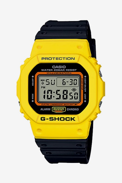 G-Shock DW5600TB-1D Black/Yellow
