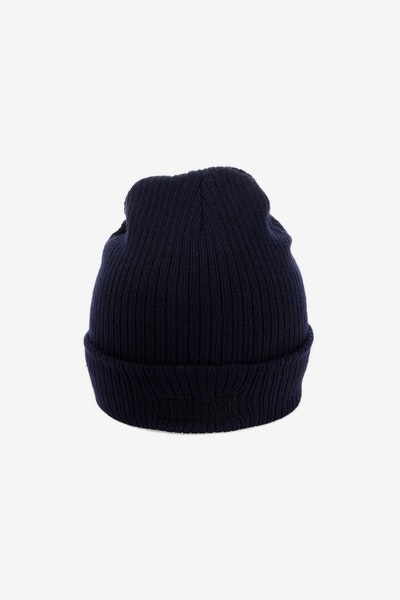 Saint Morta Crooked Beanie Navy