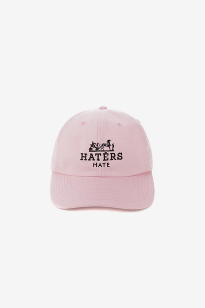 GOAT CREW HATERS STRAPBACK PINK