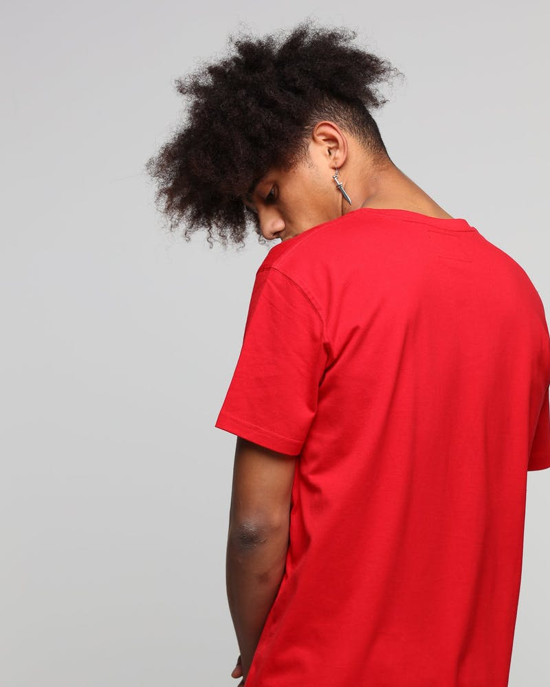 Carré Core Camo Rouge SS Tee Red