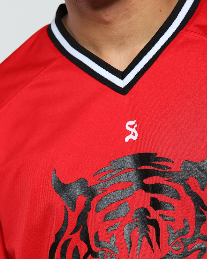 Saint Morta Tigers Game Jersey Red/Black
