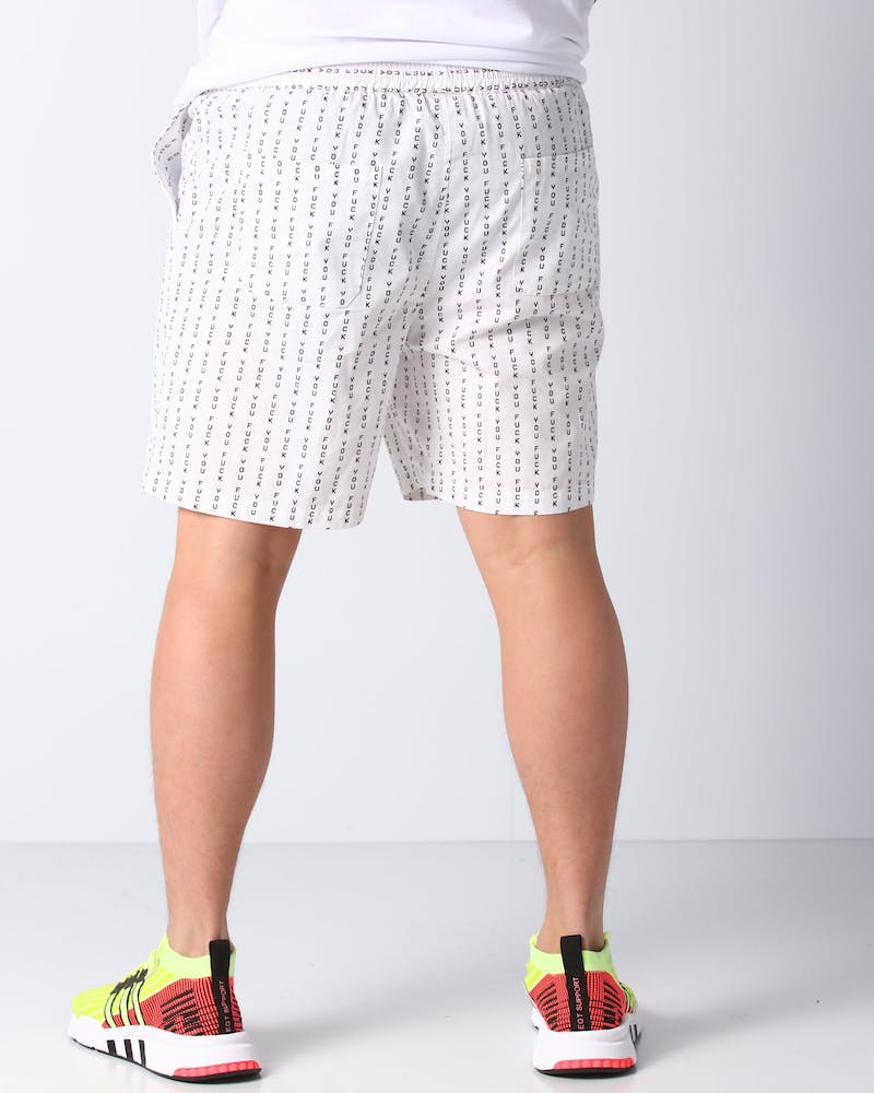 Goat Crew Fook You Shorts White/Black