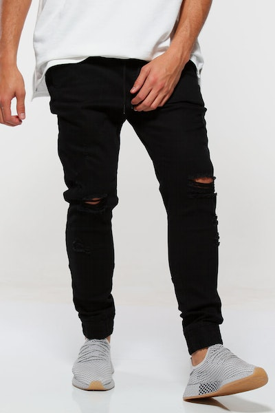 Saint Morta Slasher Jogger Black