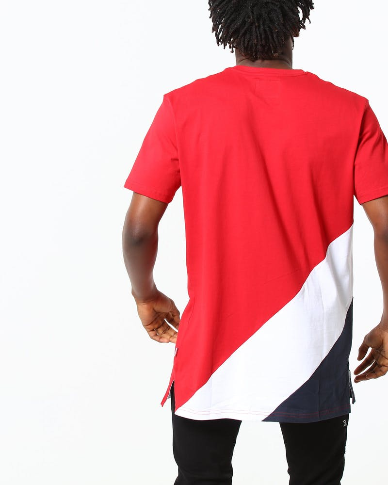 Carré Lafayette Divise Tee Navy/White/Red