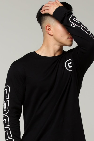 Carré Patrice De Base LS Tee Black