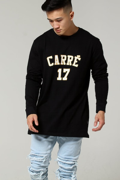 Carré Pitbulls De Base LS Tee Black