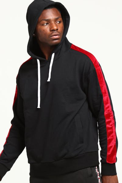New Slaves Vertigo Hoodie Black/Red