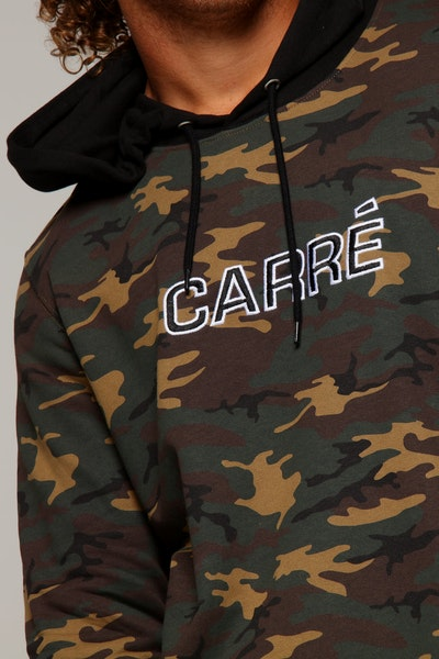 Carré Opposed Hood Camo/Black