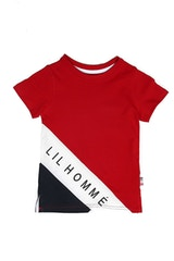 Lil Homme Lafayette Divise Tee Red/White/Navy