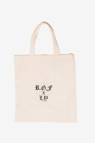 Rats Get Fat X Ly Moloney Tote Bag Cream