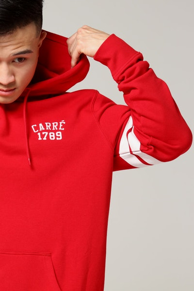 Carré P.A De Base Hood Red