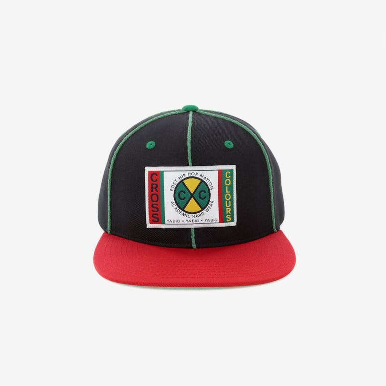 Cross Colours LA Classic Soutache Snapback Black – Culture Kings NZ 604dfddf0ee