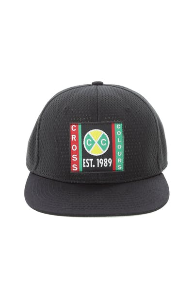Cross Colours LA Mesh Snapback Black