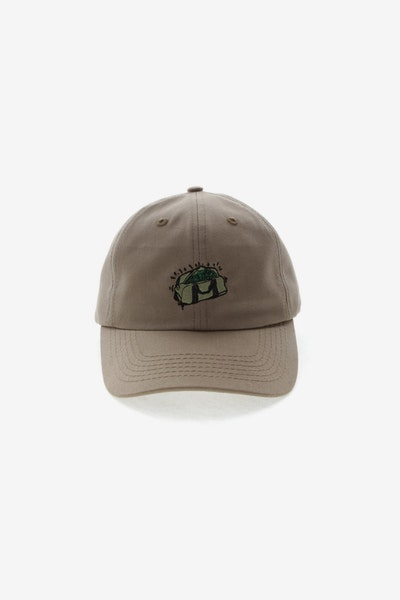 GOAT CREW SECURE THE BAG STRAPBACK TAN