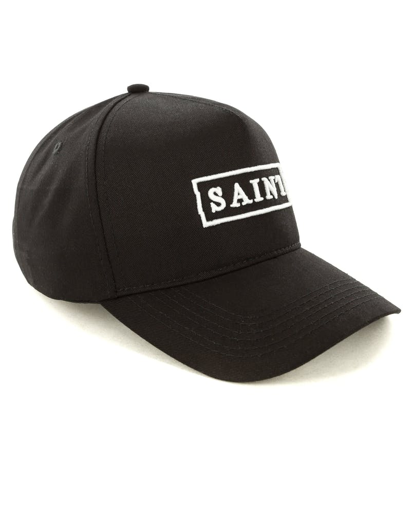 Saint Morta Crooked Strapback Black/White