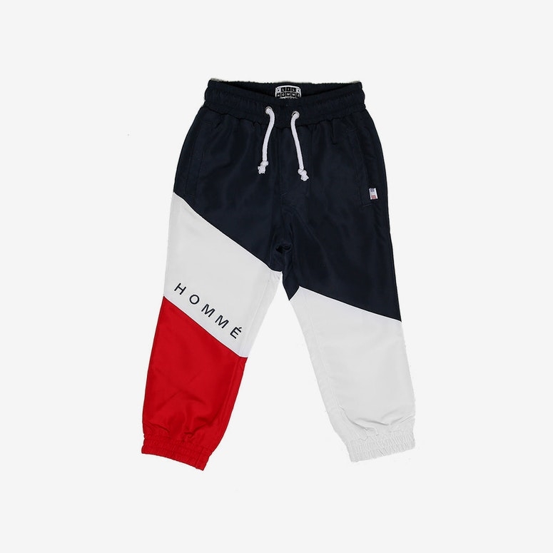 Lil Homme Lafayette Track Pant Navy/White/Red