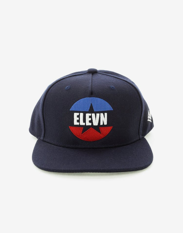 22c10e49bb2 Elevn Clothing Co Plastic Gangsta Hat Navy – Culture Kings NZ