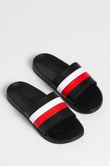 New Slaves Mane Slide Black/White/Red