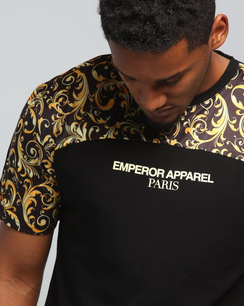 Emperor Apparel Venetian T-Shirt Black
