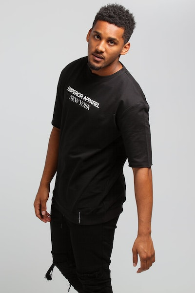 Emperor Apparel Oversize T-Shirt Black