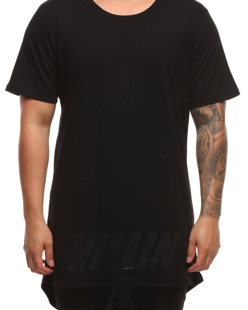 Brick City Villin Shadow Tee Black/Black