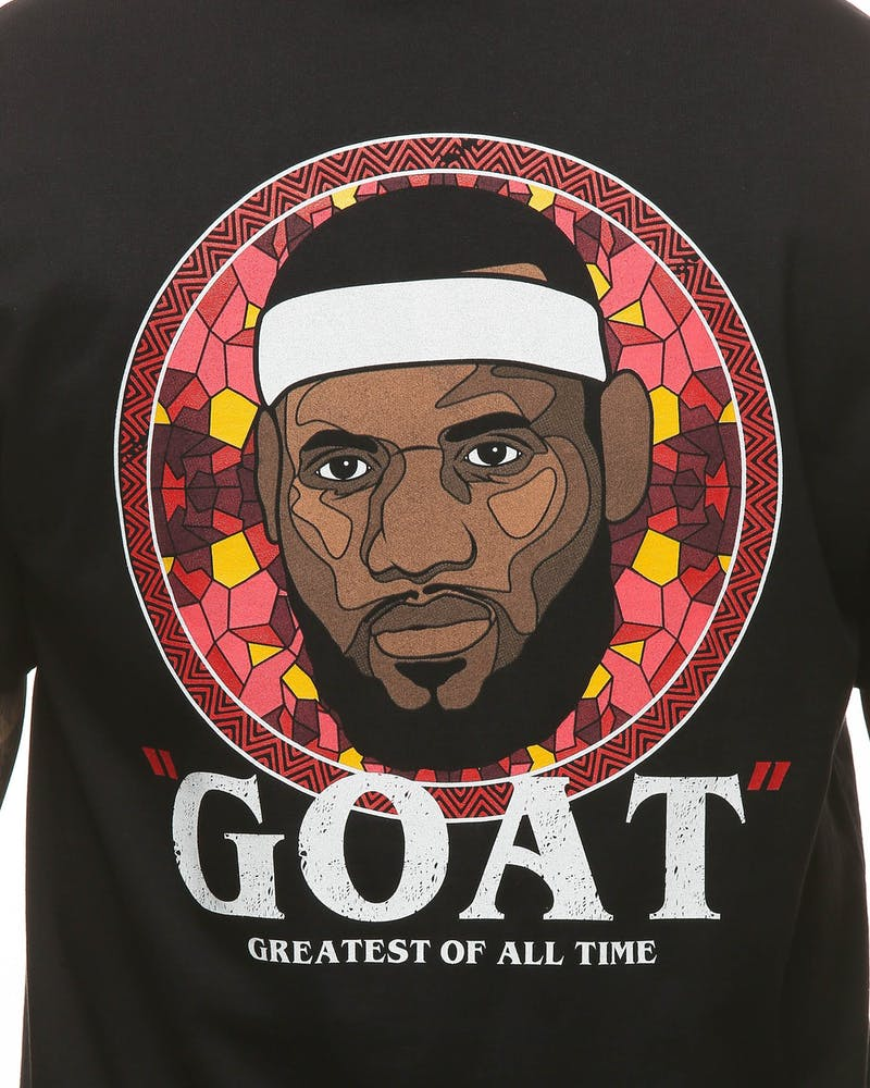 Goat Crew Greatest Of All Time SS Tee Black