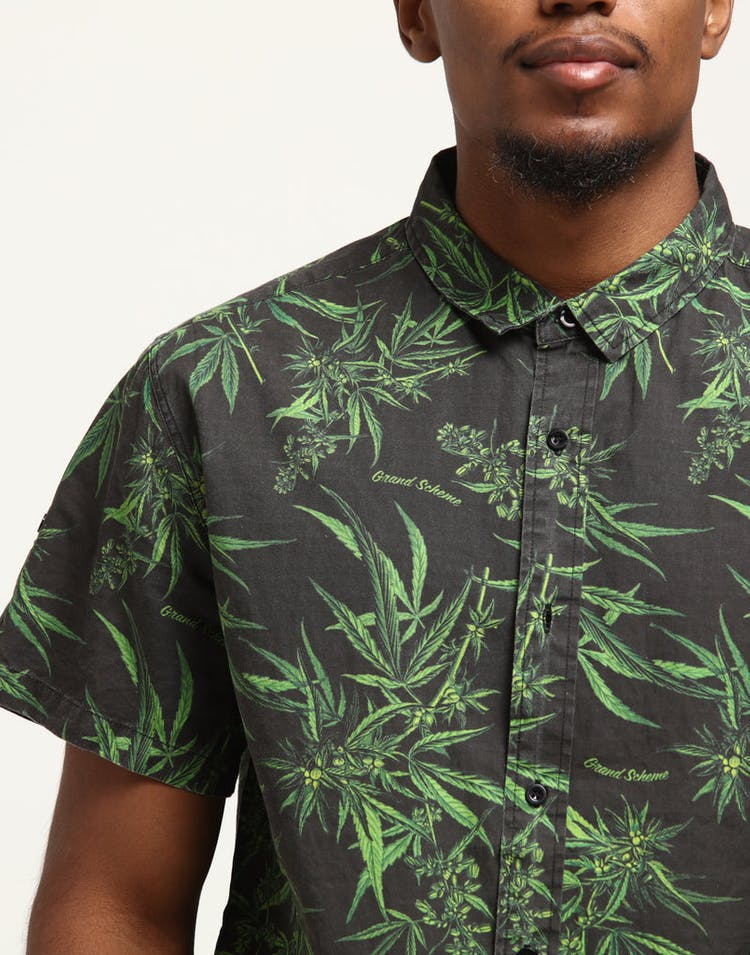 Grand Scheme Maui Wowie Shirt Black