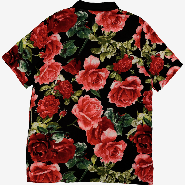 New Slaves Vintage Button Up Floral