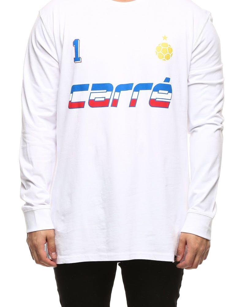 Carré Victor Divise LS Tee White
