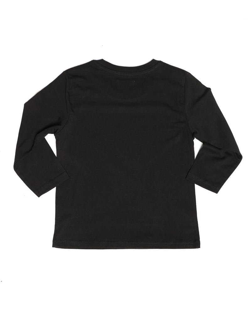 Lil Homme Rouge Long Sleeve Tee Black