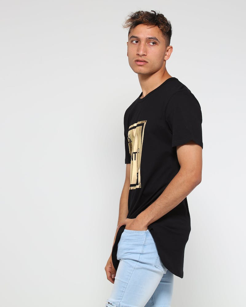 Saint Morta Rue Saint El Duplo SS Tee Black/Gold