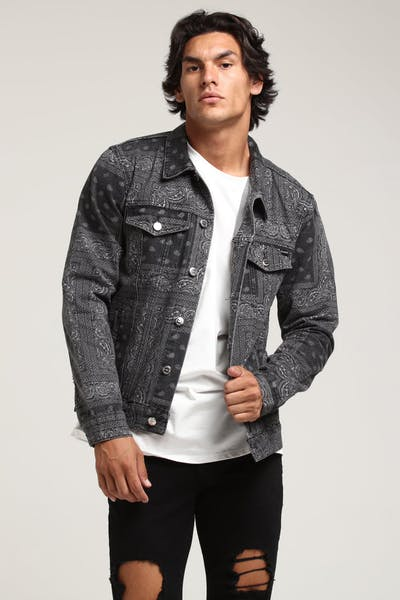 Carré Bandit Denim Jacket Black