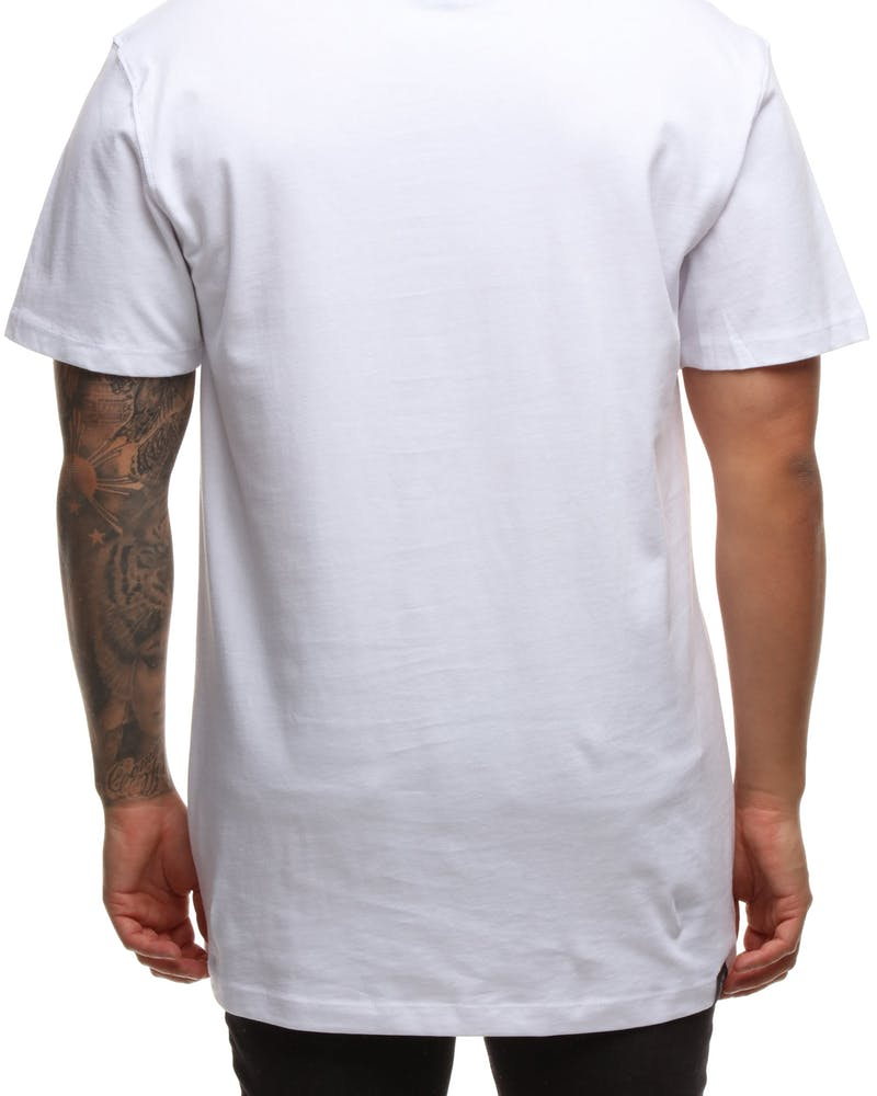 GOAT CREW KENNY SPRAY TEE WHITE