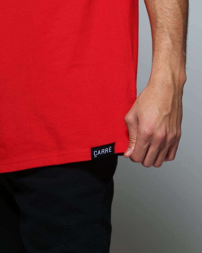 Carré Ecriture Divise SS Tee Red