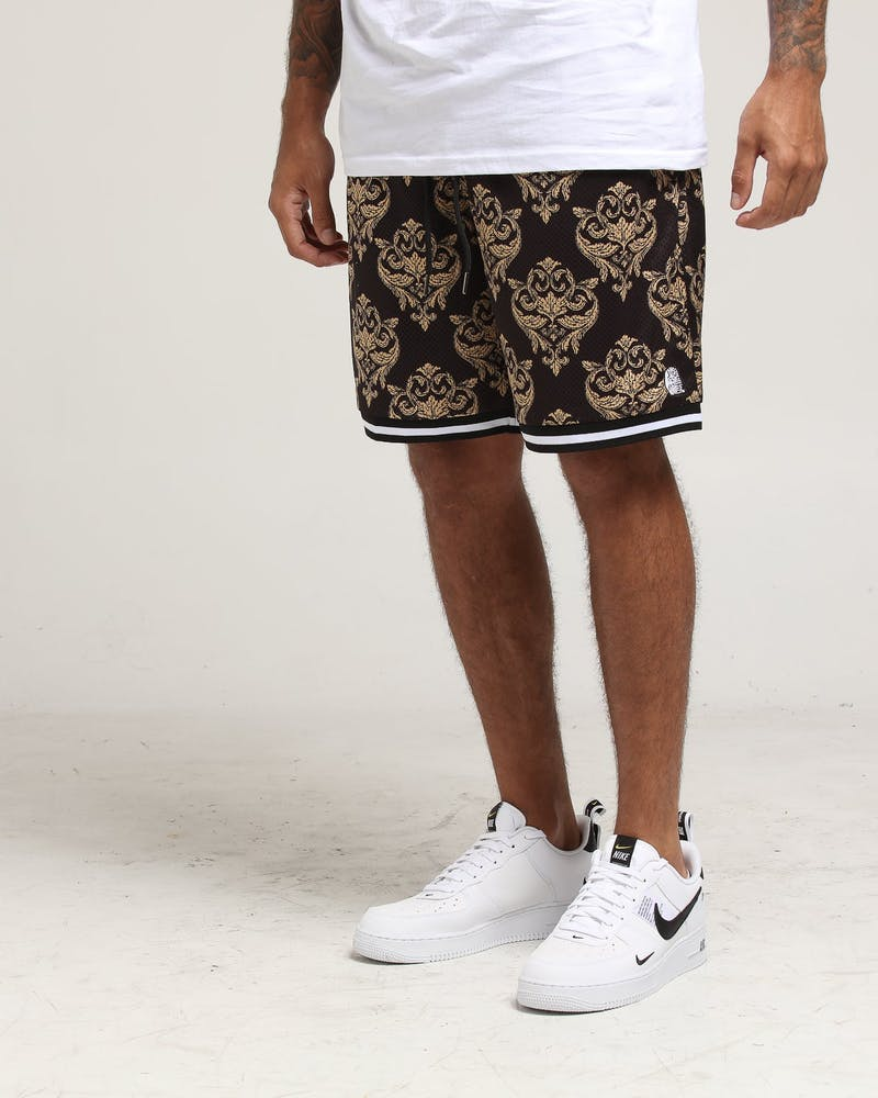 Last Kings Baroque Basketball Short Black/Gold